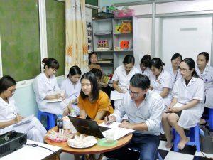 Mission du 25 avril au 11 mai à Hanoï, Wilfrid GONTRAN et Sophie CAREZ