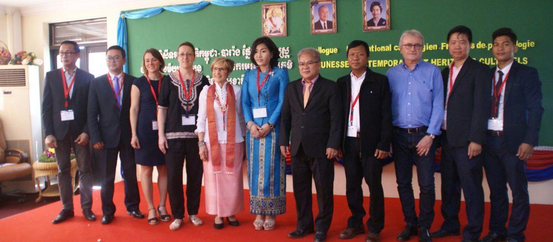 Colloque à l'Université de Battambang Mars 2019
